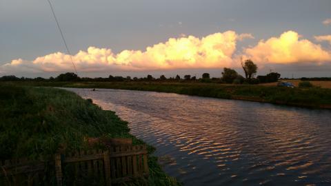 River Cam at Waterbeach